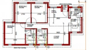 88 m² 3 bed 2 bath