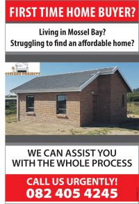 Exciting new Development in Mosselbay